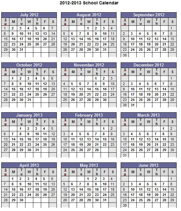 More Calendar Templates For Printing And Editing At
